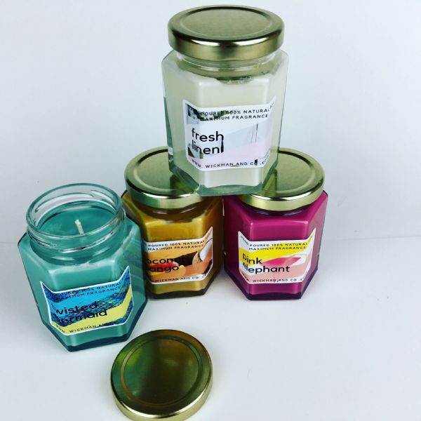 BUY 2 GET 1 FREE CANDLE OFFER £12.95 inc UK Delivery